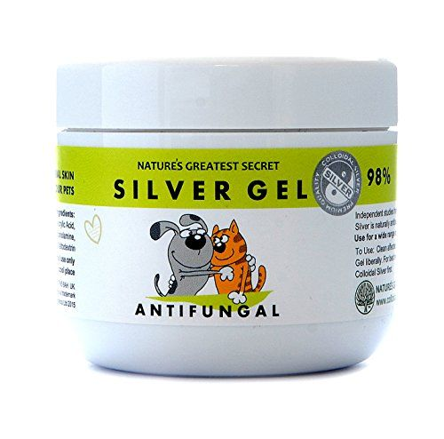 Natures Greatest Secrets Colloidal Silver For Pets Antifungal Cream